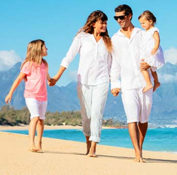 Rodinná dovolená ve Španělsku